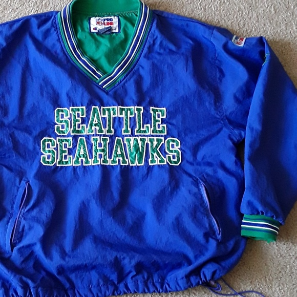 outlet store sale 0ae47 3ece7 Vintage Seattle Seahawks Champion Pullover (SzL)